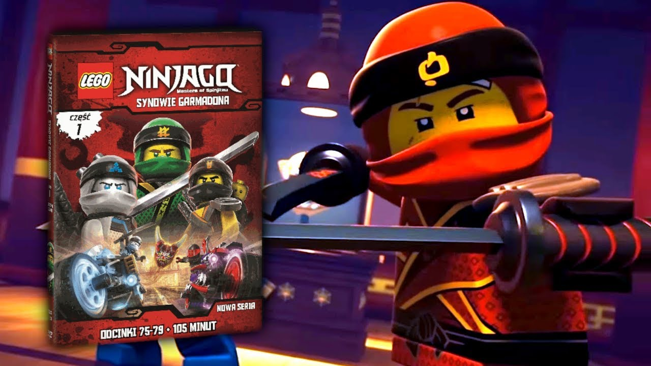 Lego Ninjago Synowie Garmadona Część 1 Na Dvd Recenzja Konkurs