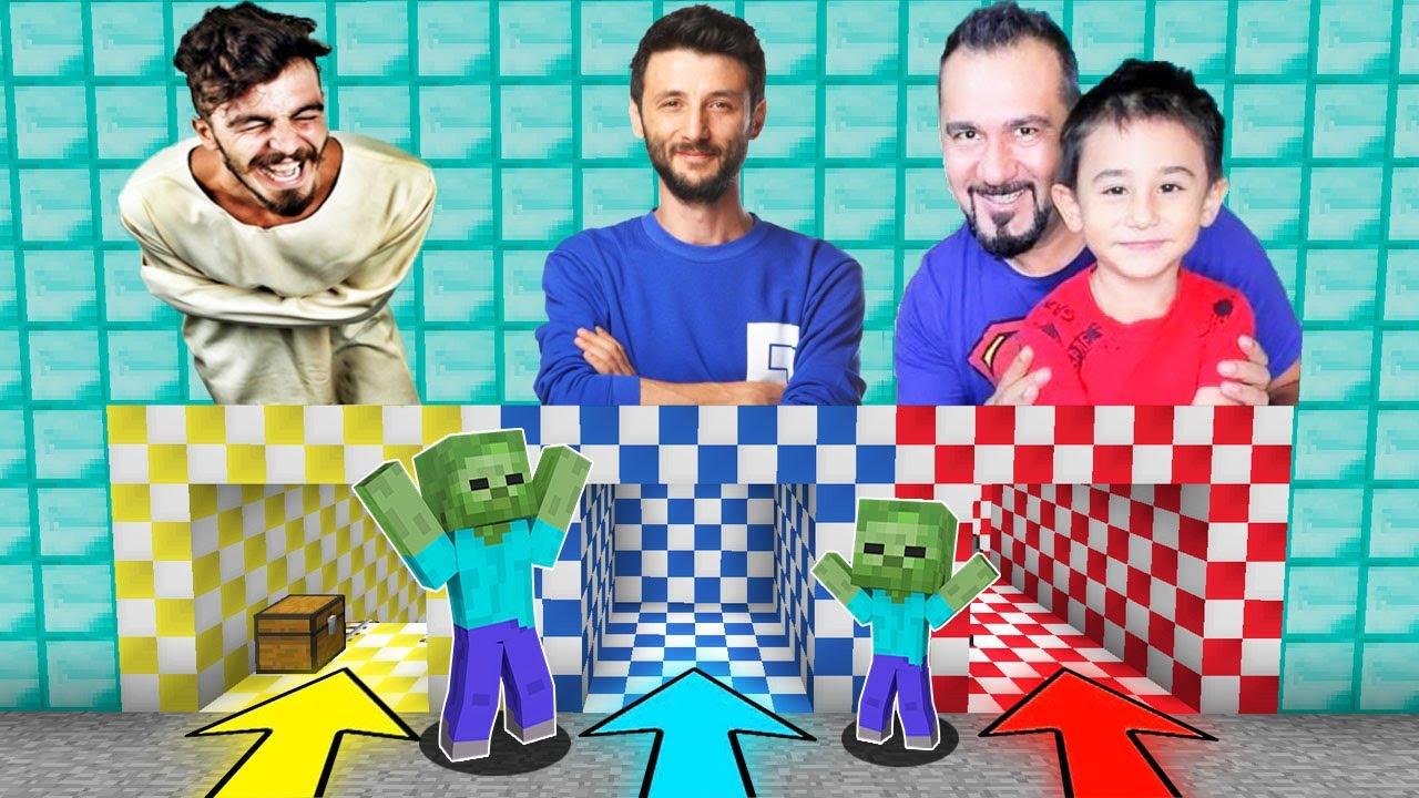 Download YANLIŞ YOUTUBER MAĞARASINI SEÇERSEN ÖLÜRSÜN 😱 - Minecraft