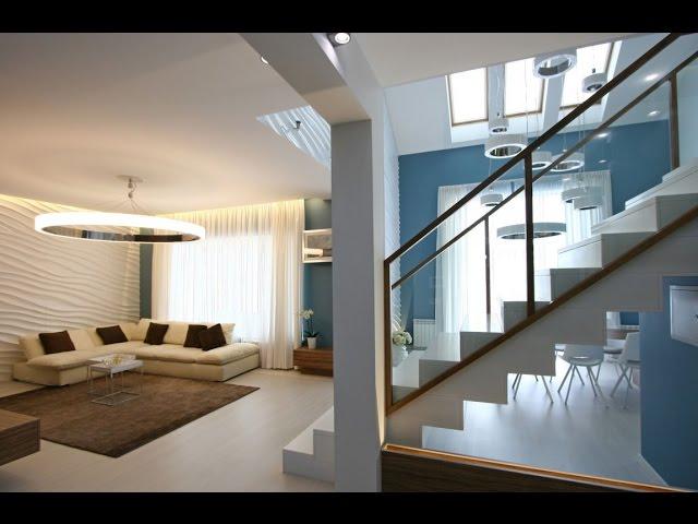 Dise o de casa moderna de dos plantas m s planos for Diseno de casas modernas de 2 plantas