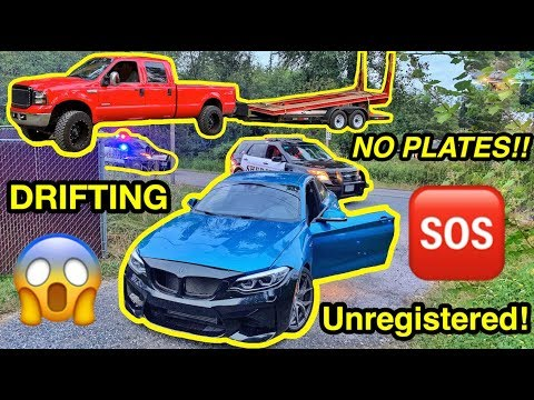 Garage Update + NEW Purchase, GTR BACKFIRE, BMW M2 DRIFTING, PULLED OVER Like DDE