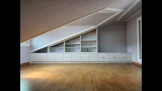 동탄 써니밸리타운하우스 복층주택 경사지붕 다락방 독서공…