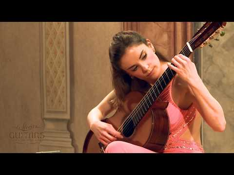 Ana Vidovic plays Recuerdos de la Alhambra by Francisco Tárrega クラシックギター