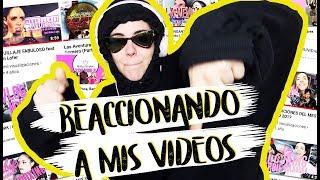 REACCIONANDO A MIS PRIMEROS VÍDEOS | Andrea Compton