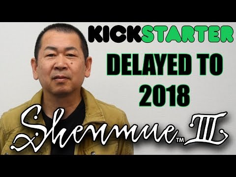 Shenmue 3 Delayed to 2018 (Second Half) | Announcement