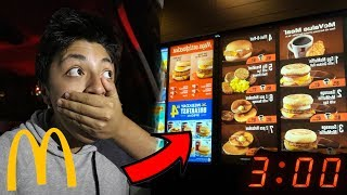 ORDERING THE SECRET MENU AT 3AM!! * DO NOT TRY THIS*