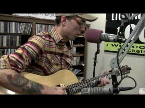 Justin Townes Earle - My Starter Won't Start This Morning - Live in the Lightning 100 studio