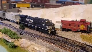 SCALETRAINS Product Review N Scale DCC Norfolk Southern GE C44-9W