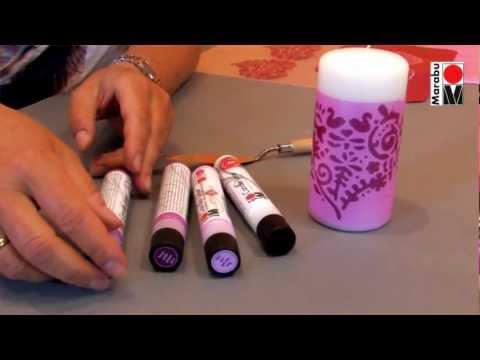 marabu-anleitungsvideo-|-kerzendesign-mit-dem-marabu-candle-liner