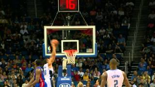 Aaron Gordon Rattles the Rim!