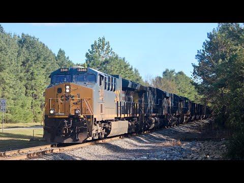 [15 Trains!] BNSF x3, Train Meets, Auto Train! CSX/Amtrak in Ashand VA, Doswell Diamond!