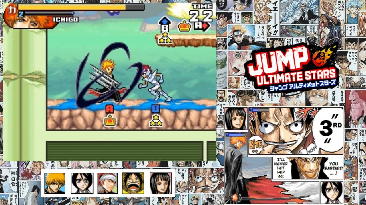 Jump Ultimate Stars Gameplayhd Youtube