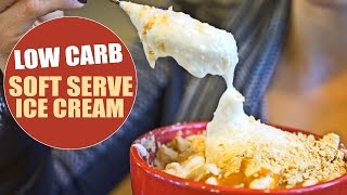 Low Carb High Protein Soft Serve Ice Cream With Kara Corey