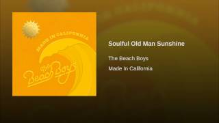 Soulful Old Man Sunshine