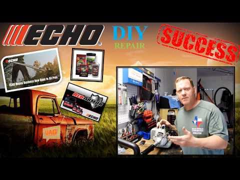 ECHO carburetor and fuel repair - diy