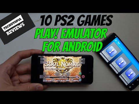 10 PS2 Games on Android Smartphones/Play! Emulator latest version/Video/Playable games/IN GAME