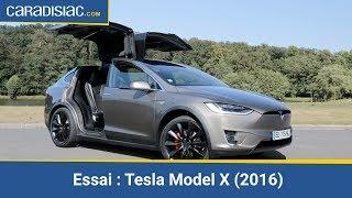 Essai - Tesla Model X 2016 : navette spéciale