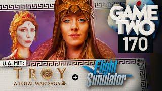 Flight Simulator 2020, Troy: A Total War Saga, Mortal Shell | Game Two #170