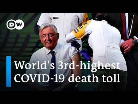 COVID-stricken Mexico develops its own 'Patria' vaccine | DW News
