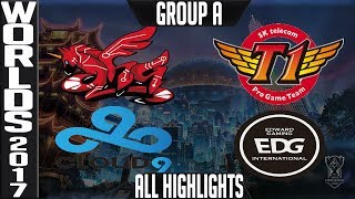 World Championship 2017 Highlights ALL GAMES Day 8 Groups ALL Kills, Objectives + Quarterfinal Draw