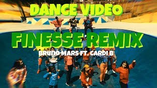 Finesse (Remix) - Bruno Mars ft. Cardi B | Dance Video | Choreography by: @Galaxxy_DC