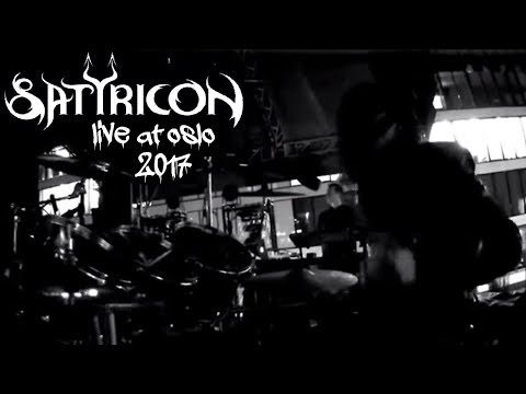 "SATYRICON LIVE OSLO 2017 (Pro Shot) full ""Deep Calleth Upon Deep"""