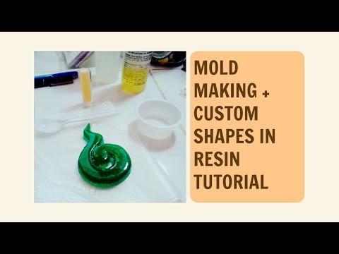 Mold Making | Custom Shapes in Resin Tutorial