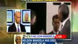 Nelson Mandela to Byron Pitts: 'Good and Evil are Constantly at War, Good Men Must Choose'
