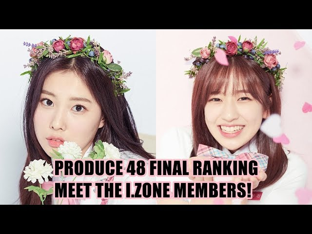 PRODUCE 48 FINAL RANKING | MEET THE I.ZONE MEMBERS