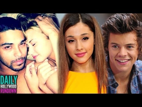 Demi Lovato Nude Photos Leaked? Harry Styles & Ariana Grande Hooking Up? (DHR)