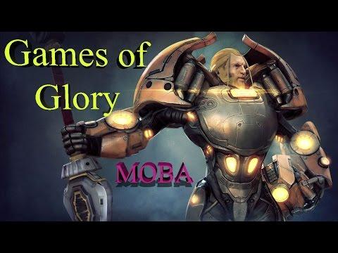 видео: games of glory - пулеметы, катаны и прочее в новой moba