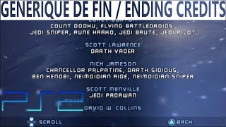Star Wars Episode III: Revenge of the Sith (Video Game) │ Credits