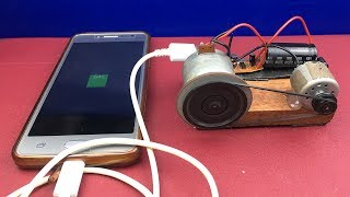 Download DIY Free Energy Generator Experiments - How to Make Mobile Phone Charger At Home Using DC Motor Mp3 and Videos
