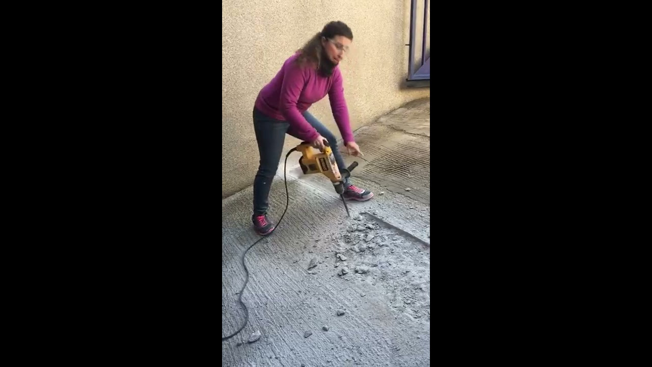 Reparar Rampa De Garaje Youtube