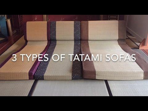 The Tatami 3 Types Of Sofas
