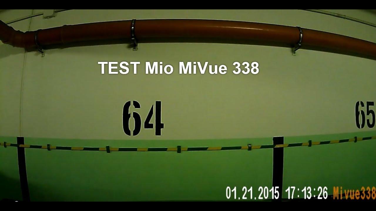sängar mio test ~ rejestrator samochodowy mio mivue 338 test w nocy  camera