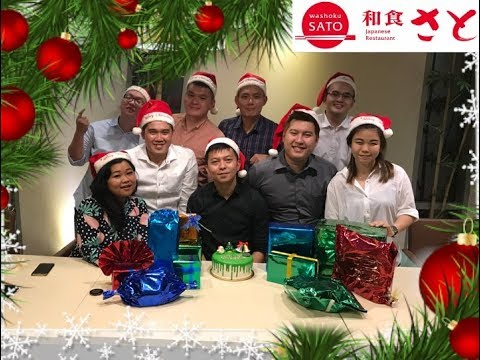 Christmas Gathering 2017 with Team Gembul & DMF @Washoku Sato Central Park Mall