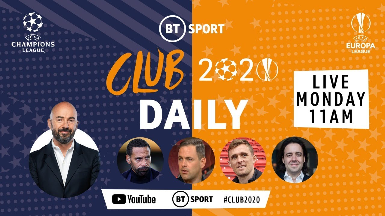 Club 2020 Daily: Who will win this season's Champions League and Europa League? | Mon 10th August