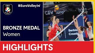 Turkey vs. The Netherlands Highlights - #EuroVolleyW