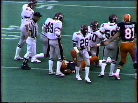 Colgate Syracuse Football 1982 1st Half Youtube
