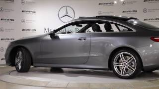 2018 Mercedes-Benz E400 Coupe at Mercedes-Benz Heritage Valley