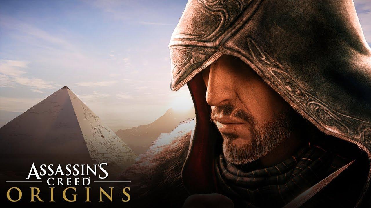 assassin s creed origins ezio reference the flea of cyrene