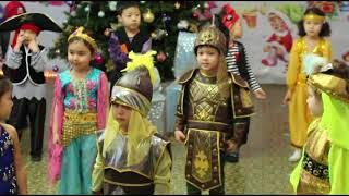 """Детский сад """"от А до Я"""": Новогодний Утренник 28-12-2017"""