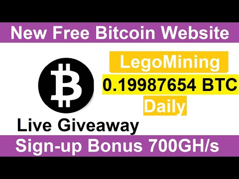 New Free Bitcoin Mining Site 2020-Free Cloud Mining Site 2020-Legomining Review