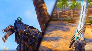 "NUEVAS 5 ARMAS BLACK OPS 3 ""GAMEPLAY EXCLUSIVO""!! M2 RAIDER, MARSHAL 16, CANCION DE FURIA..."