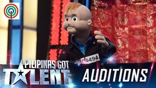 Pilipinas Got Talent Season 5 Auditions: Tyler - Puppet Auditionee