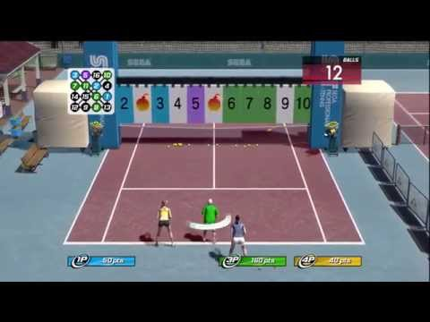 Virtua Tennis 3 Court Games Gameplay (360)