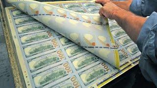 Как производят доллары США. Документальный фильм