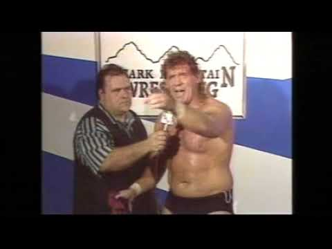 Tracy Smothers vs Tommy Rich feud Ozark Moutain Wrestling