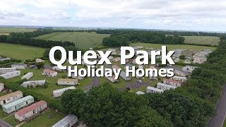 Holiday Homes in Birchington Thanet at Quex Park Holiday Park, Kent