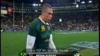 All Blacks vs Springboks - 3rd Test 2008